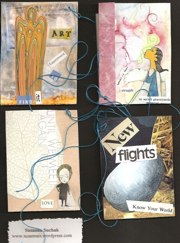 Susanna Suchak: one collection from three envelopes of cards