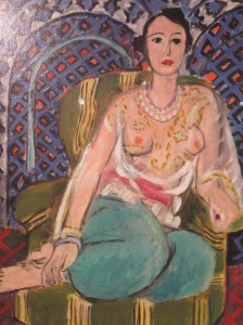 Beautiful Lady at the Metropolitan Museum of Art