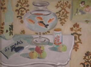 Those goldfish are a common subject for Matisse. From the Metropolitan Museum of Art.