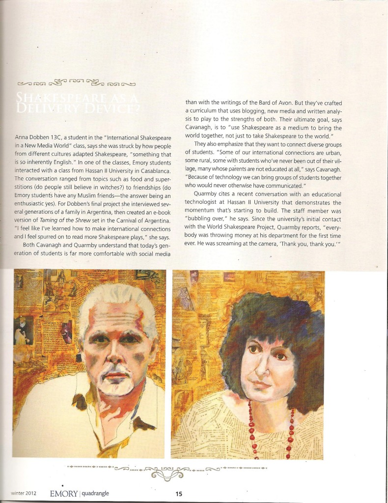 Quadrangle Magazine Winter 2012