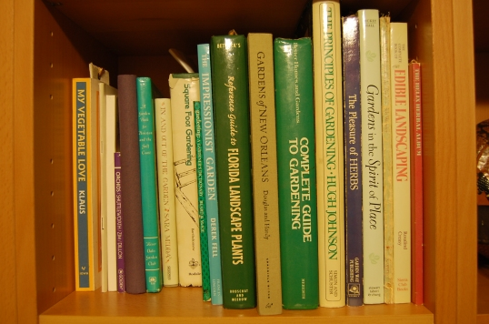 Photographs of books from my shelves.
