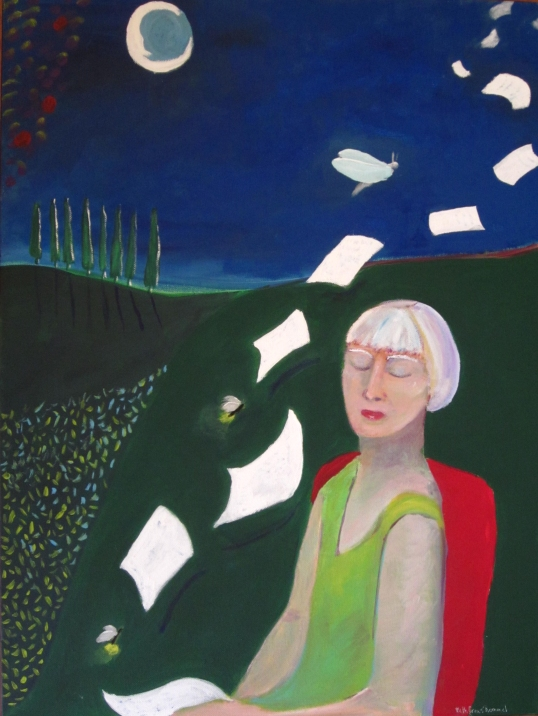 Lady of the Night Mind copyright ECR 2013