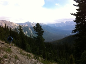 The hike to get to and from Hamilton Lake. The view of the world was breath taking, so was the altitude.