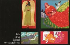 Assorted artwork Card