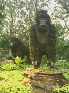 Mosaiculture gorilla.