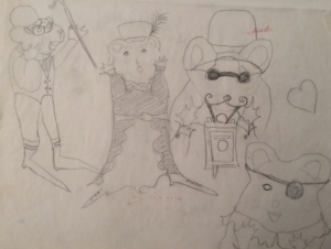 Steampunk mice.