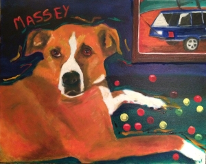 Good dog Massey.
